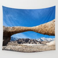 alabama Wall Tapestries featuring Alabama Arch by davehare