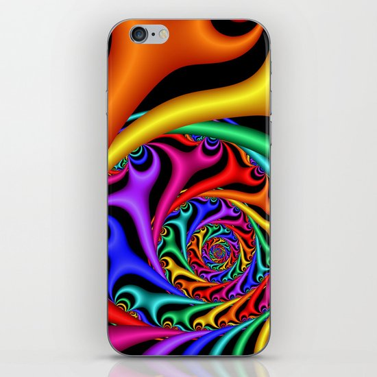 Rainbow III iPhone Skin