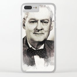 Lionel Barrymore Clear iPhone Case