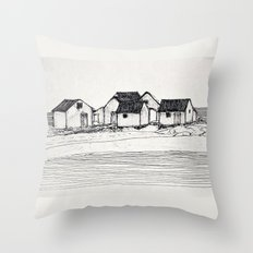 Les Galets de Natashquan Throw Pillow