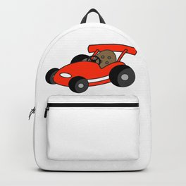 Cartoon Go-Kart Backpack