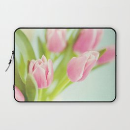 Tip Toe Through the Tulips Laptop Sleeve