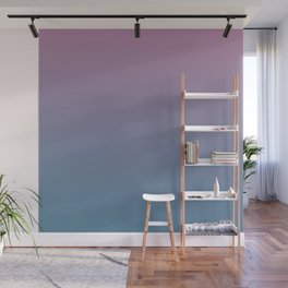 YOUTHFUL WATERS - Minimal Plain Soft Mood Color Blend Prints Wall Mural