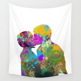 Color Kiss Wall Tapestry