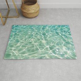Clear Ocean Water Rug