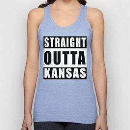 Straight Outta Kansas Unisex Tank Top