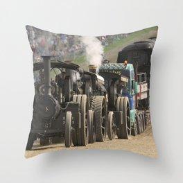 Traction Trio Throw Pillow