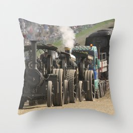 Traction Trio Throw Pillow