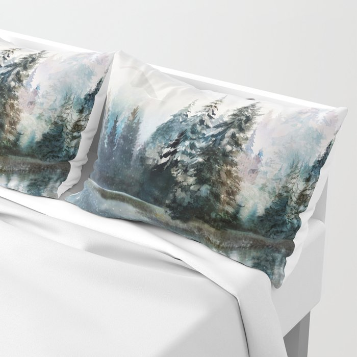 Winter Morning Pillow Sham