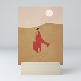 Dune Steps Mini Art Print
