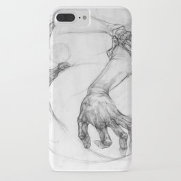 hand of life iPhone Case