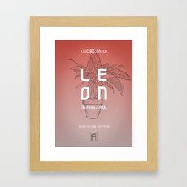 Leon - Exhibit A Framed Art Print