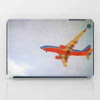 airplane iPad Cases featuring Airplane by KimberosePhotography