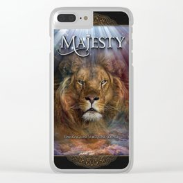 MAJESTY Clear iPhone Case