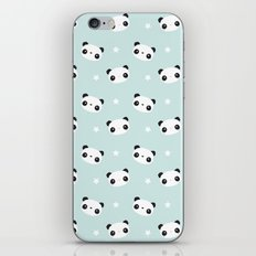 Panda in love iPhone Skin