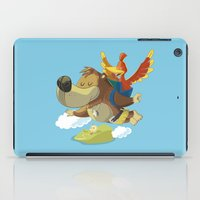 banjo iPad Cases featuring Banjo by Rod Perich