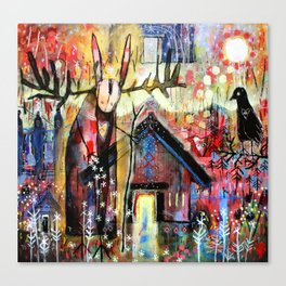 The House Of My Ancestors Canvas Print
