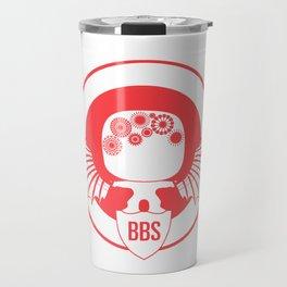 BBS v. SSR (Capt America version) Travel Mug