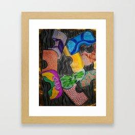 Floating  Objects Framed Art Print