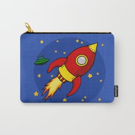 Space Rocket Carry-All Pouch