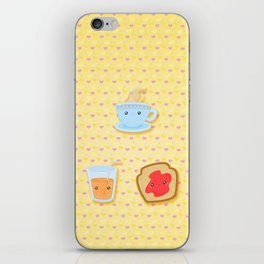 breakfast iPhone Skin