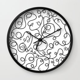 Conversation Loops Wall Clock