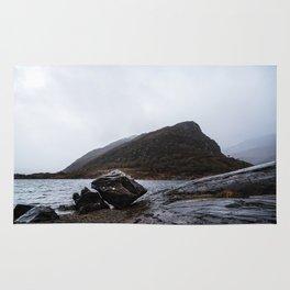 Misty Irish lake Rug