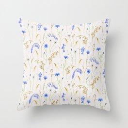 Wild Grain Meadow - Neutral Throw Pillow