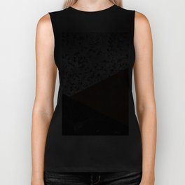 Granite, Marble, Rusted Iron Abstract Biker Tank