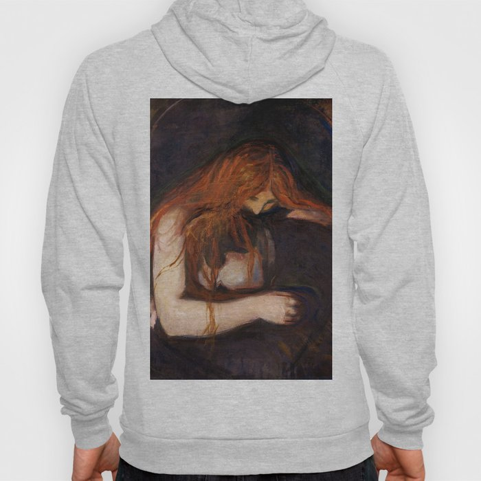 Vampire by Edvard Munch Hoody