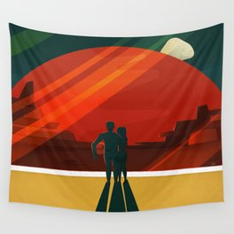 Phobos Deimos Wall Tapestry