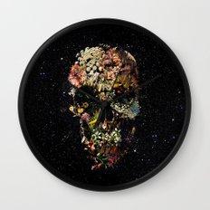 Smyrna Skull Wall Clock