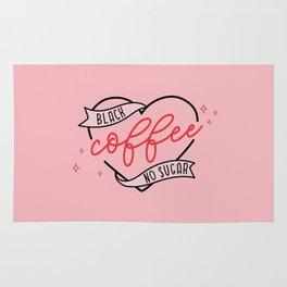 Coffee, Black No Sugar Rug