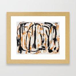 Commas Framed Art Print