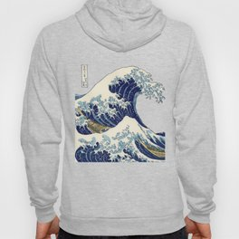 The Great Wave off Kanagawa Hoody