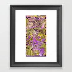 Garden Pansy Framed Art Print
