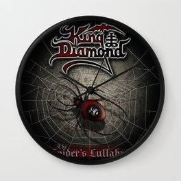 KING DIAMOND SPIDER LULLABYE TOUR DATES 2019 JARJIT Wall Clock