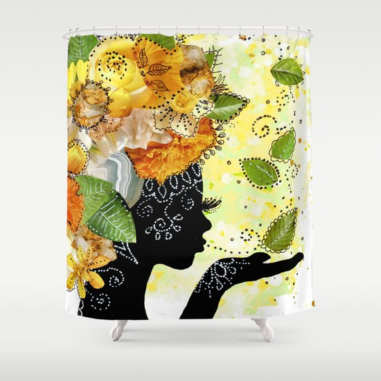 Earth Child Shower Curtain