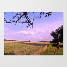 Endless Walk Canvas Print