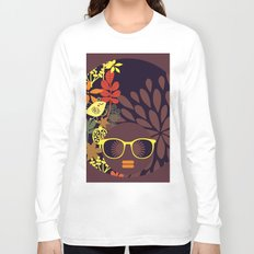 Afro Diva : Sophisticated Lady Deep Long Sleeve T-shirt