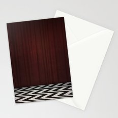 Black Lodge / Red Room Twin Peaks Stationery Cards