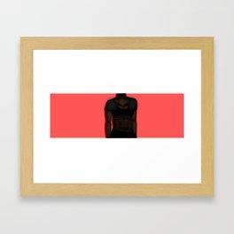 The Blacker the Berry Framed Art Print