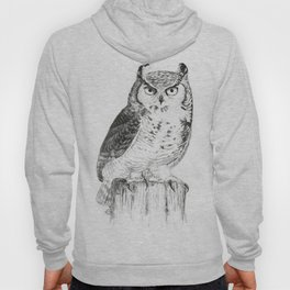 My great horned owl: Nuit Hoody