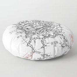 Castle Project Floor Pillow
