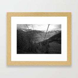 Overview. Framed Art Print
