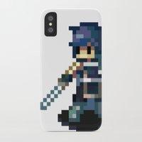 fire emblem awakening iPhone & iPod Cases featuring Chrom Pixels - Fire Emblem Awakening by MKwon