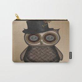 Dapper Owl Bird Boy  Carry-All Pouch