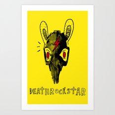 Rabitt Skull Art Print