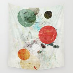 To The Moon and Back Wall Tapestry