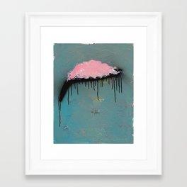 Strawberry Pajamas Framed Art Print